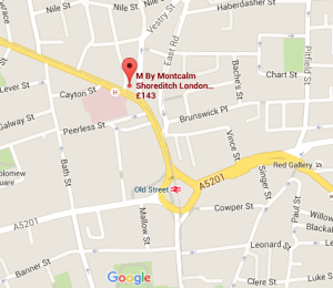M by Montcalm Map