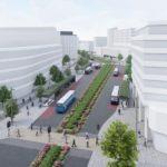 Bus Boulevard scheme goes on display