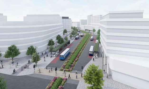 Bus Boulevard scheme goes on display
