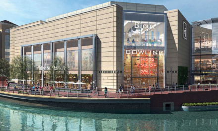 Oracle's bowling alley, adventure golf, cafes and shops set for approval