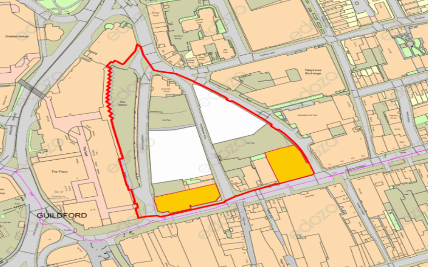 Guildford town centre regeneration scheme being planned