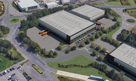162,000 sq ft warehouse scheme for Reading
