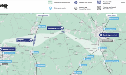 East West Rail announcement of preferred route between Bedford and Cambridge