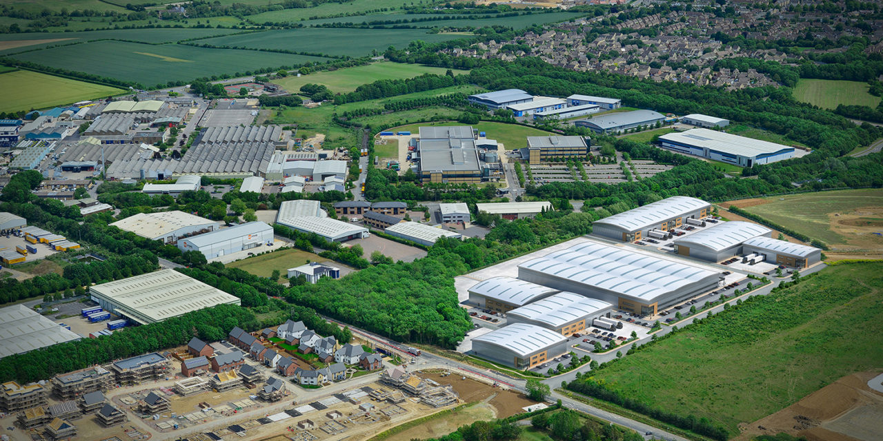 22,000 sq ft industrial unit pre-let to Meech International