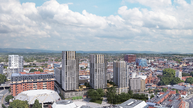 Broad Street Mall flats scheme approved