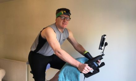 Furloughed director cycles 6,000km at home
