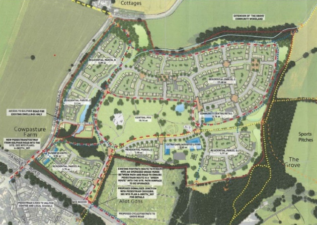 Persimmon Homes to build 'Garden Neighbourhood' in Suffolk