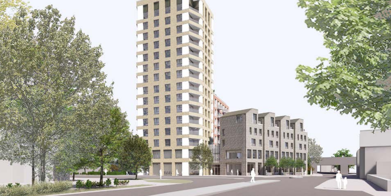 140 flats planned for site in Staines