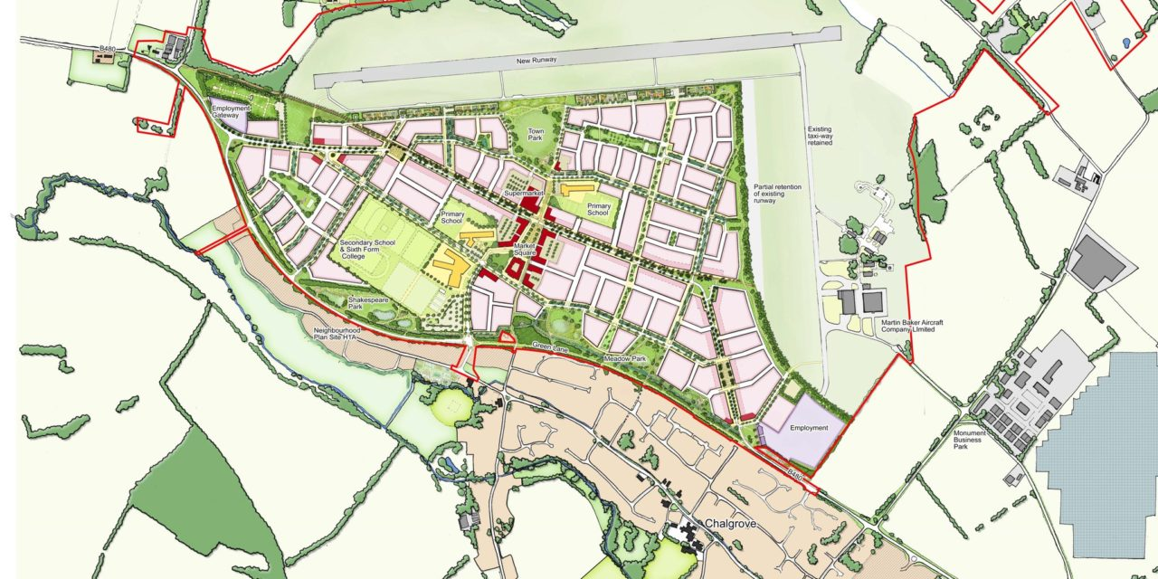 'Curious' timing of 3,000-home Chalgrove Airfield application