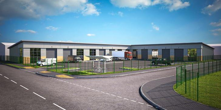 New industrial units available to pre-let in Market Deeping