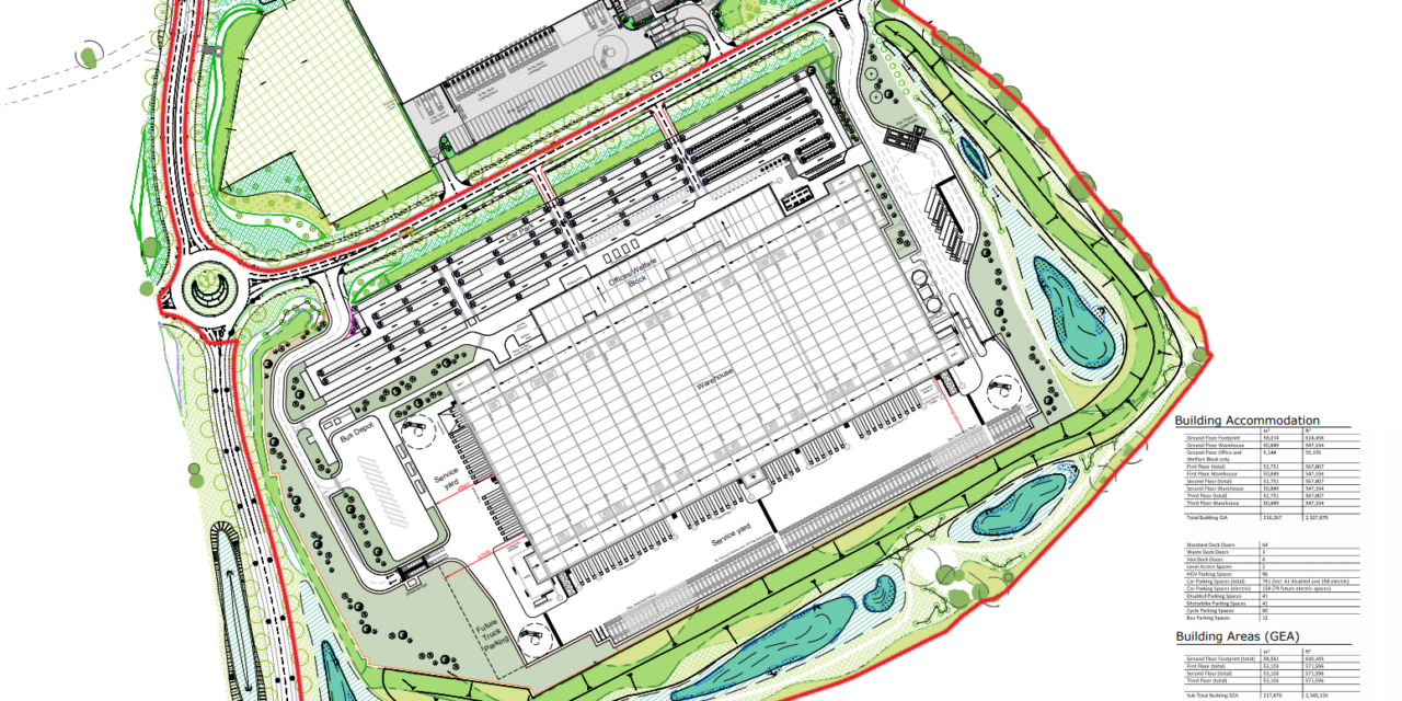 Massive warehouse approved for Swindon