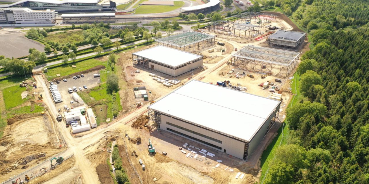 Video reveals progress at Silverstone Park
