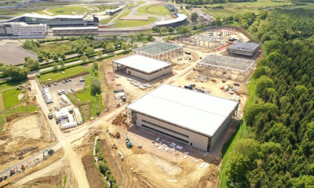 Video reveals progress at Silverstone Park