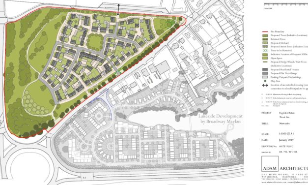104 homes approved for Theale site