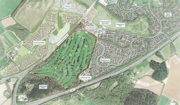 Thumbs up for 1,000 homes at Basingstoke Golf Club