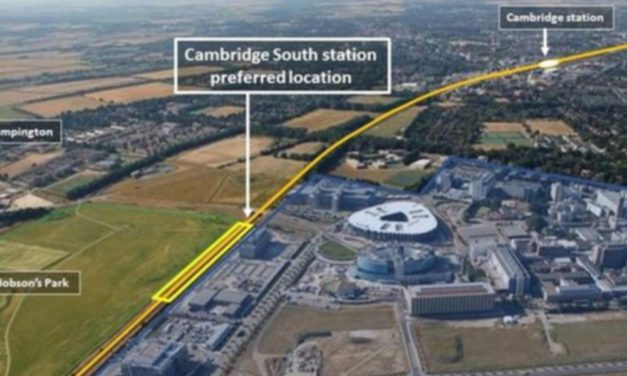 Cambridge South station railway gets the green light