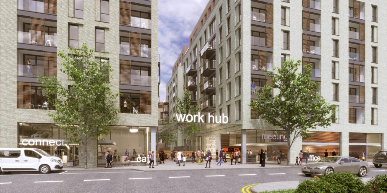 87 new homes planned in Colindale
