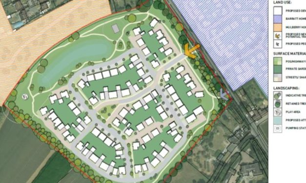 New resi scheme planned for Lower Stondon in Bedfordshire