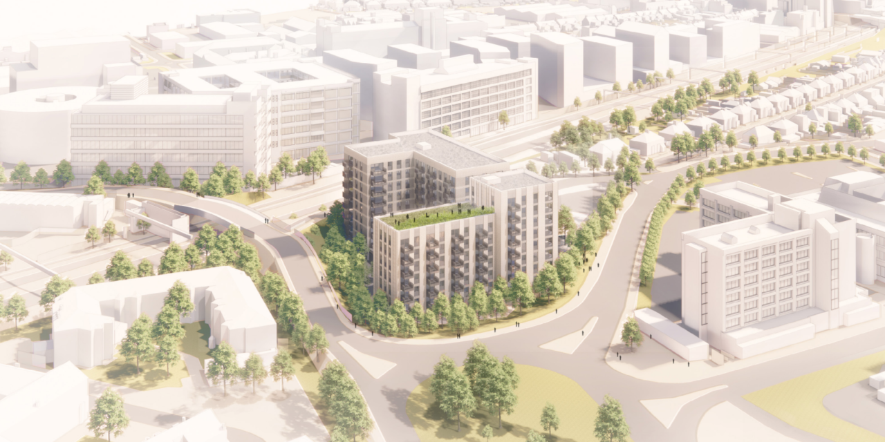 150 flats planned for Hayes