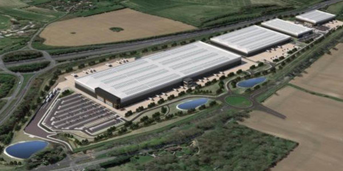 Huge distribution centre planned for Basingstoke