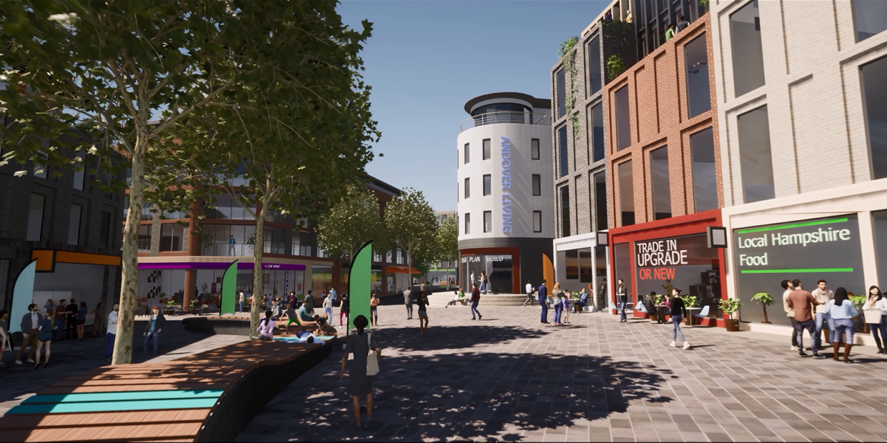 Search starts for development partner to create new Andover