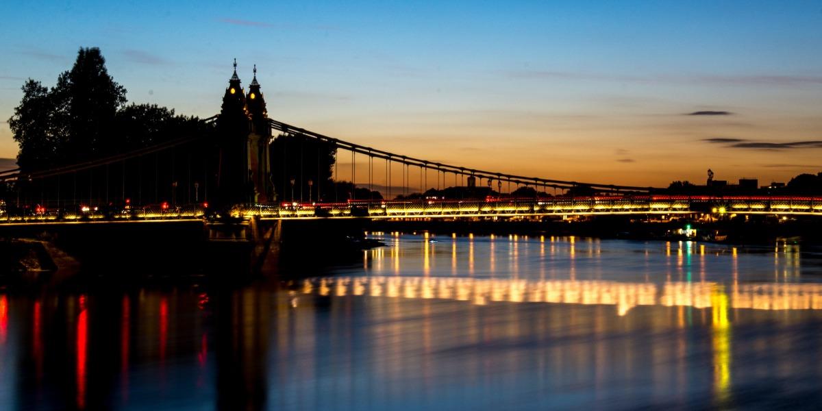 Hammersmith Bridge is falling down
