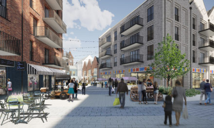 First glimpse of Kennet Centre regeneration