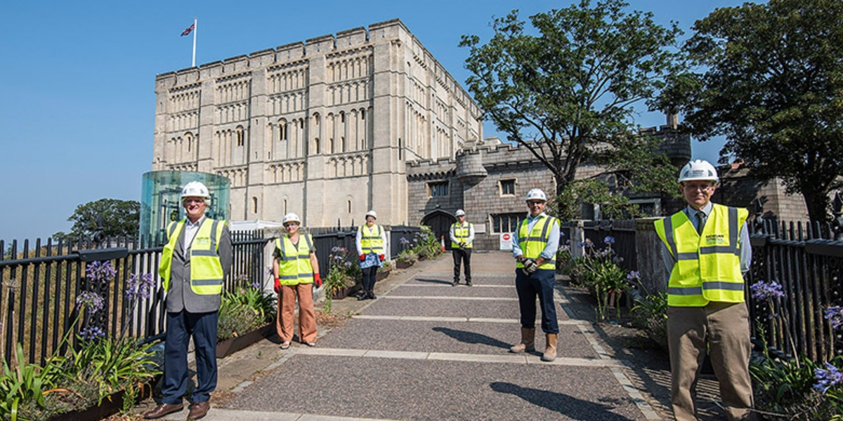 Morgan Sindall Construction to start work on Norwich Castle