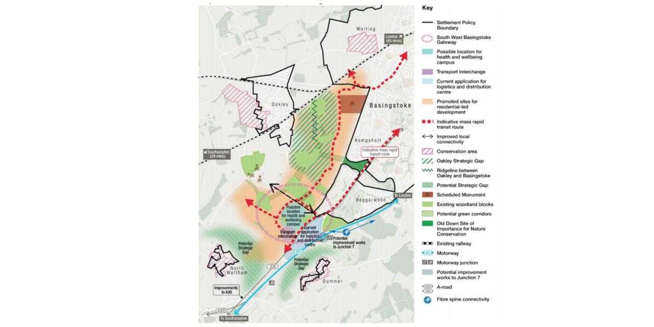 New hospital plan for Basingstoke