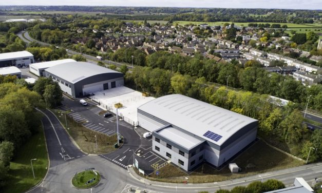45,000 sq ft industrial scheme completes