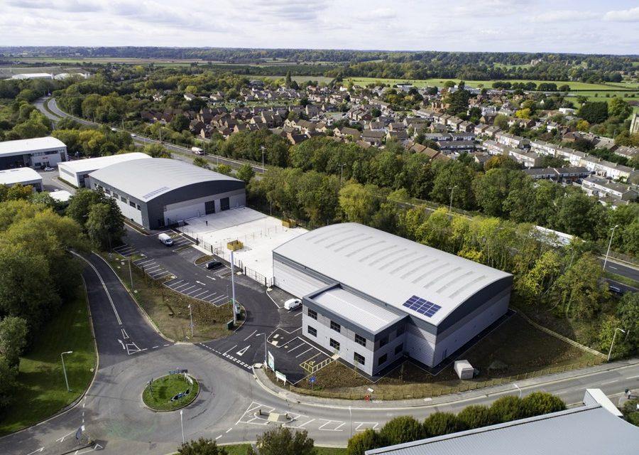 45,000 sq ft industrial scheme completes