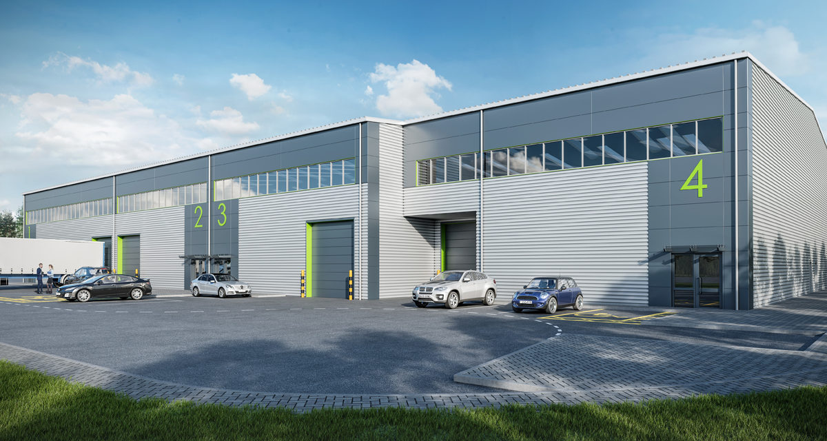 First occupiers at Chertsey Business Park