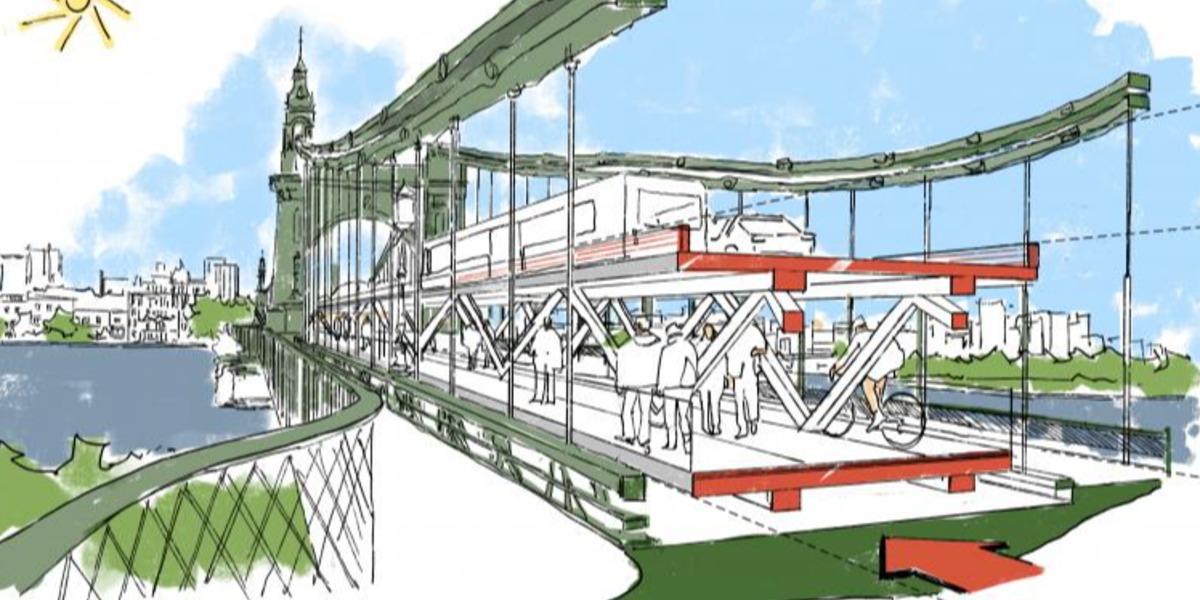 Radical plans announced for Hammersmith Bridge : Is it a bridge too far?