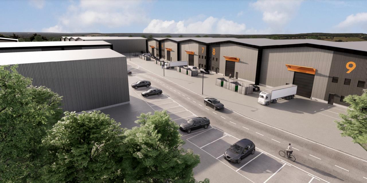 Industrial park plan for Aldermaston