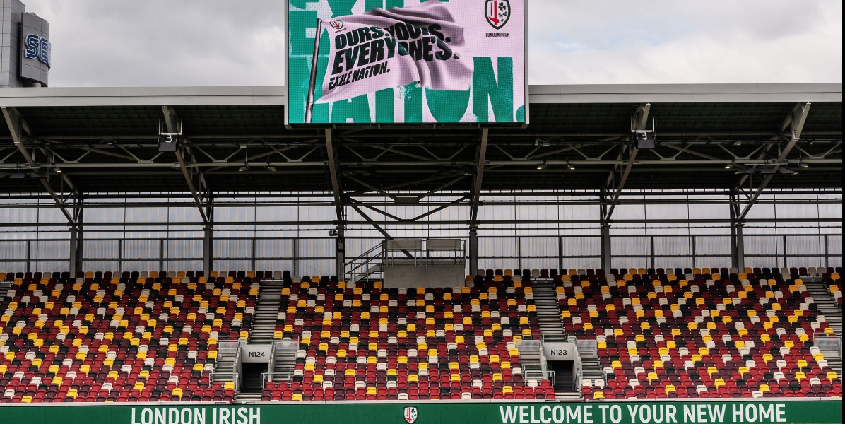 London Irish celebrates a new home, new kit and return to its roots