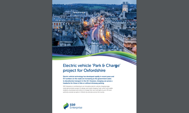 Park & charge scheme gets under way