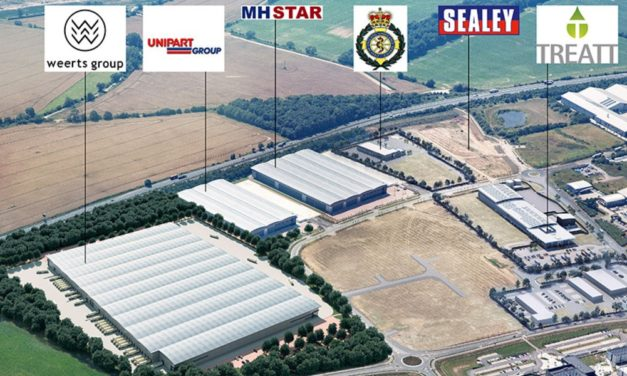 Suffolk Park gets its first UK warehouse