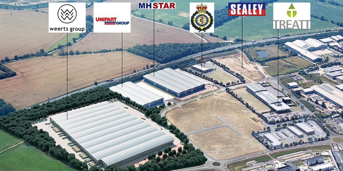 Suffolk Park gets its first UK warehouse