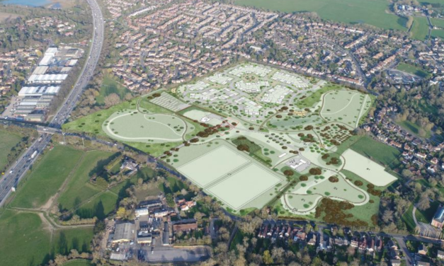 Plan to build 124 homes on Green Belt at Holyport