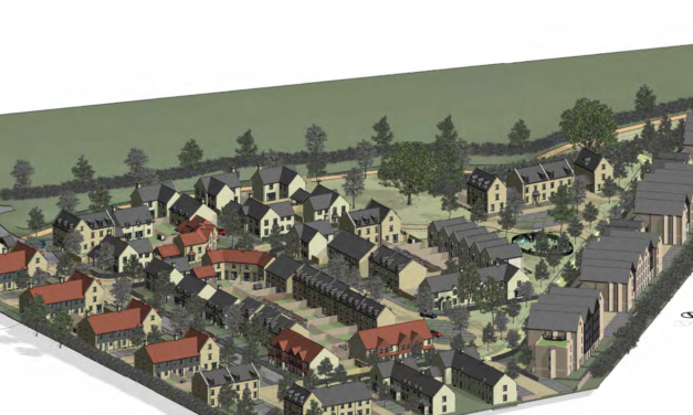 Plans for 159 homes in Oxford