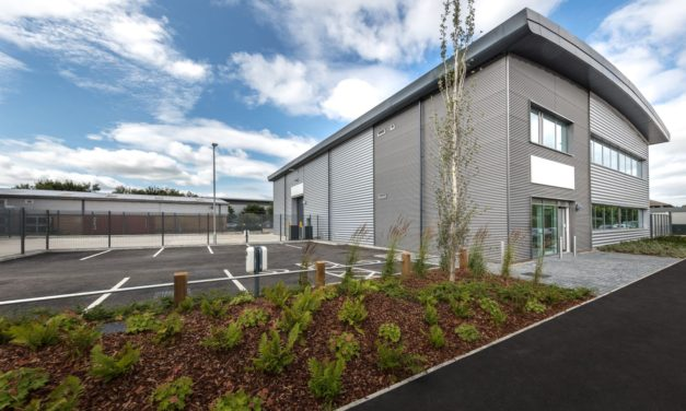 Three new units at Slough Trading Estate