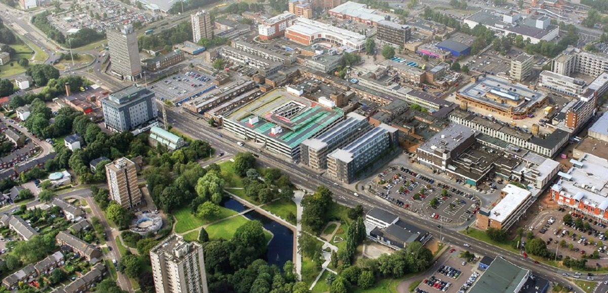 Massive plans for Stevenage Town regeneration submitted