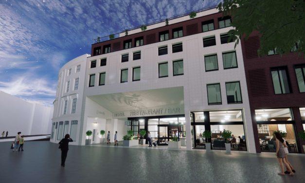 Hotel plan for Bristol & West Arcade
