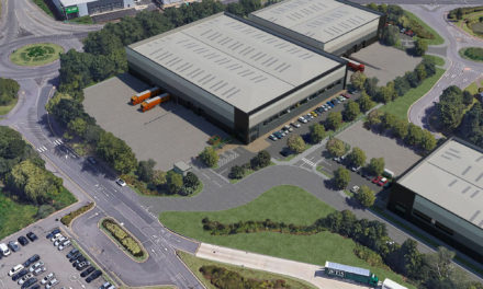 Approval for 15,080 sq m logistics park