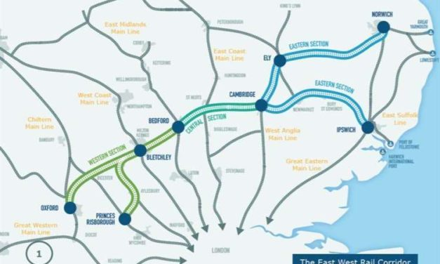 £760m go-ahead for next phase of East-West Rail