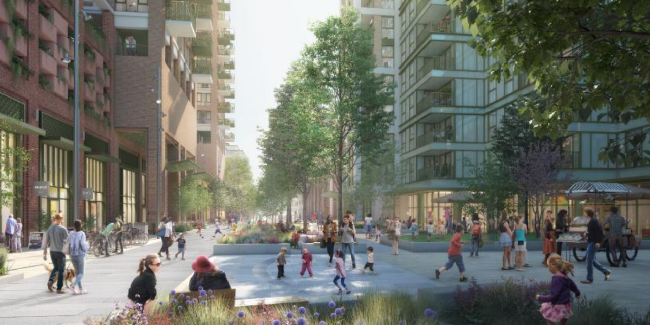 Refusal for 929 flats in Woking