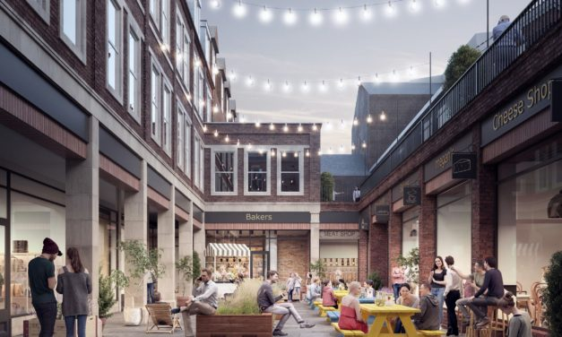 New market square plan for Reading