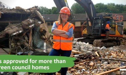 66 green homes bring colour to Milton Keynes