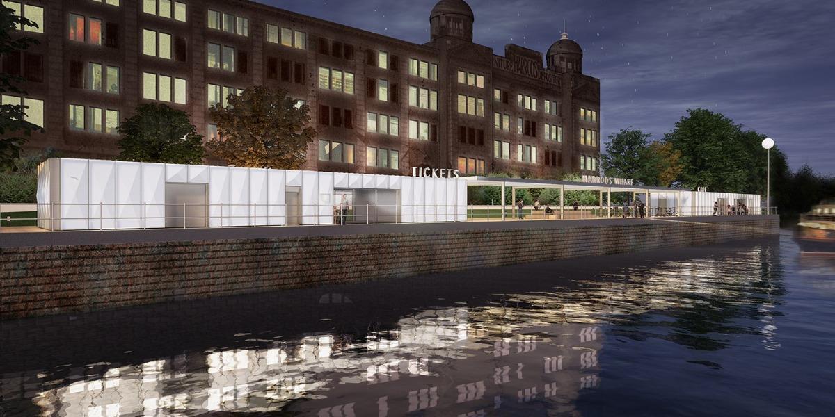 Harrods Wharf floats the idea of a temporary ferry jetty for Hammersmith Bridge