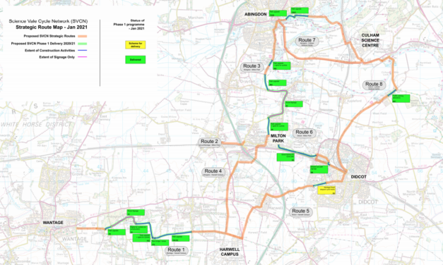 Science Vale Cycle Network routes open